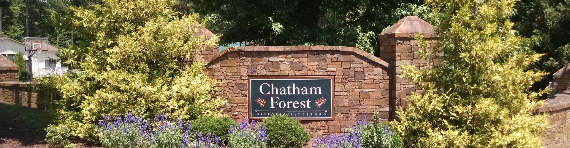 Pittsboro NC Chatham Forest